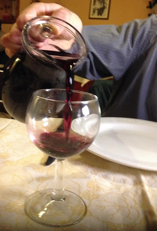 eating in puglia wine