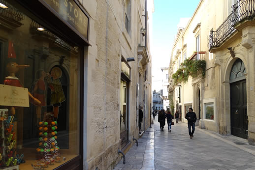 lecce shopping