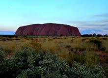 Photo Friday: Uluru at Sunset