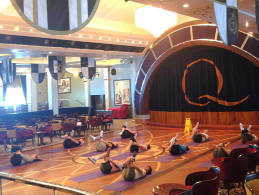 Queen Mary 2_stretch class