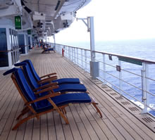 Things to do on Queen Mary 2
