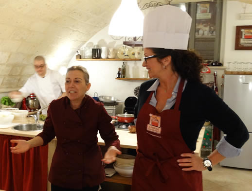 faces of puglia cooking
