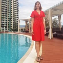 Travel Style: Little Red Dress