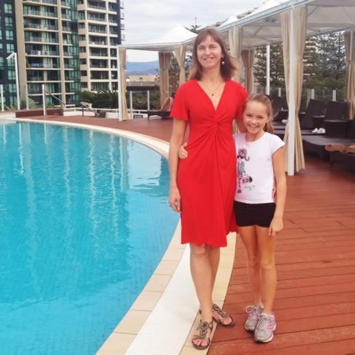 sofitel gold coast breakfast poolside