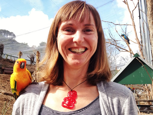 maleny botanic garden review annabel candy parrot