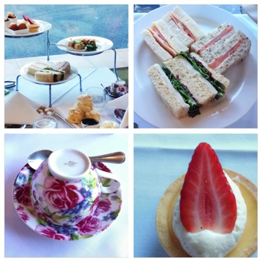 girls getaway brisbane - high tea treats
