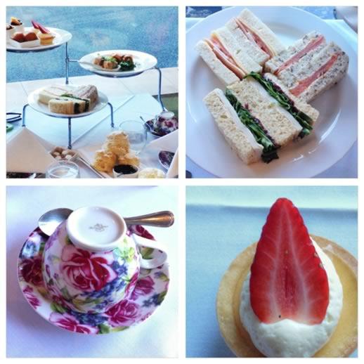 girls getaway brisbane - high tea treats