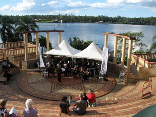 noosa botanic gardens ampitheater