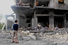 Gaza, Grief and Possible Relief