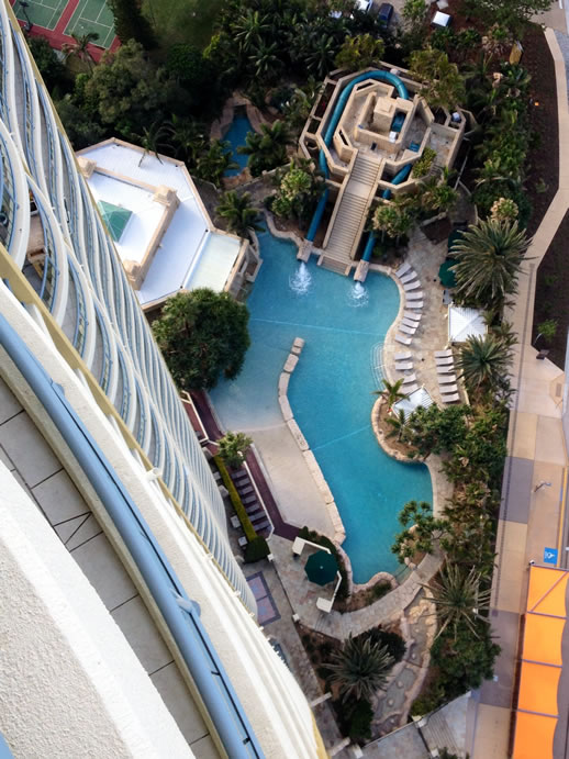 mantra sun city birdseye view pool