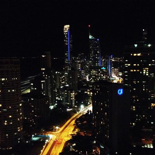 mantra sun city night view 2