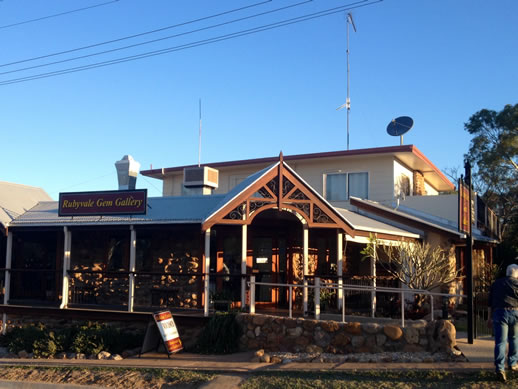 rubyvale gem gallery and cafe