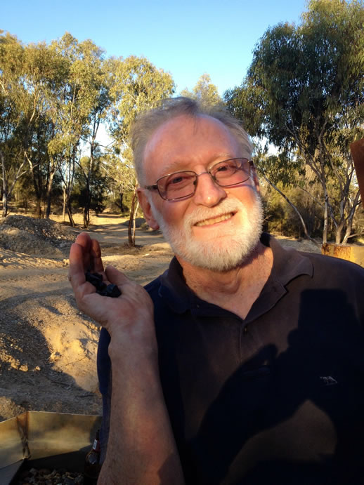 rubyvale sapphire mine peter rough