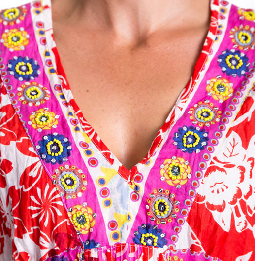 pretty dress neckline