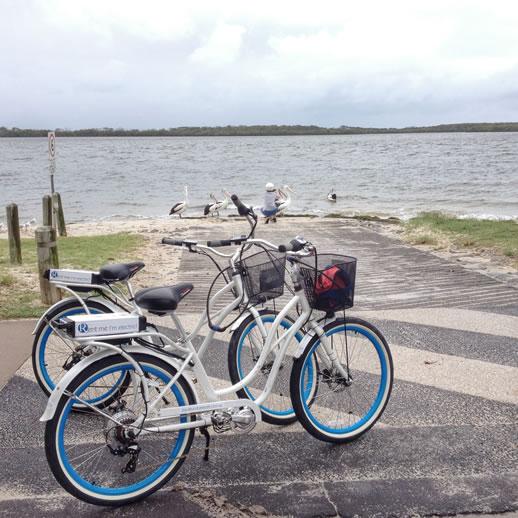 rumba resort caloundra  bikes