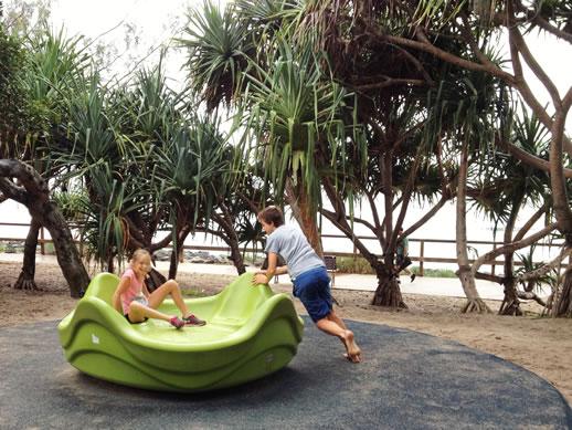 rumba resort caloundra playground merry