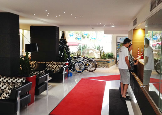 rumba resort caloundra reception 2