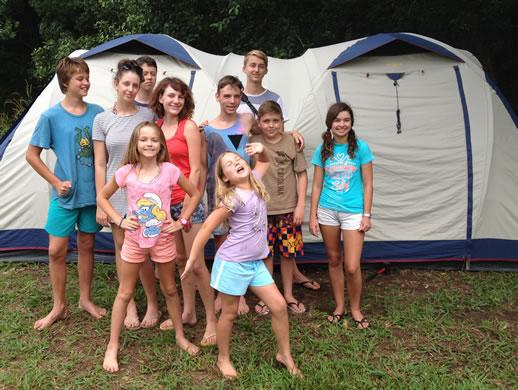 farmstay tweed valley kids