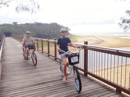 caloundra coastal track electric bike