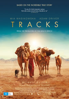 tracks movie camels poster