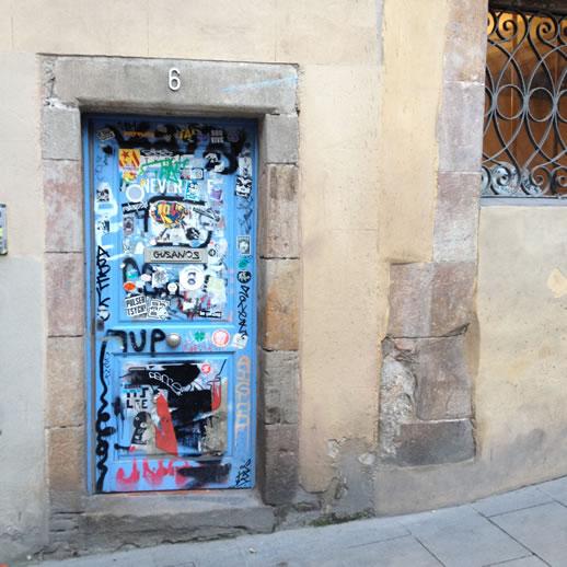 barcelona art grafiti