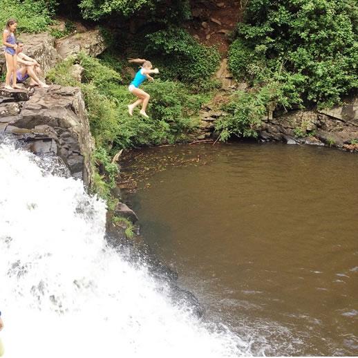 sunshine coast waterfalls gardner
