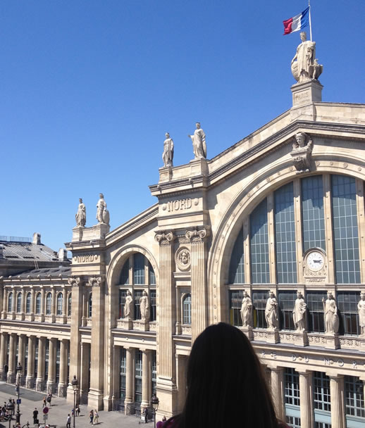 mercure paris gare du nord balcony