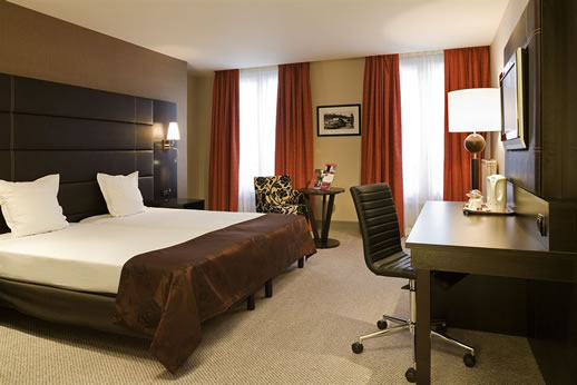 mercure paris gare du nord priviledge room