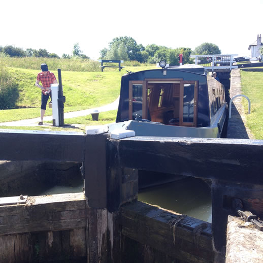 foxton locks lock