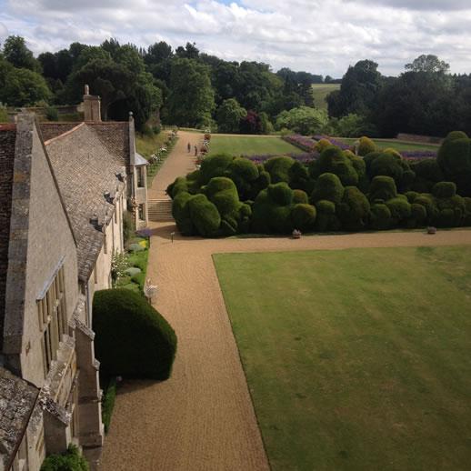 rockingham castle hedge