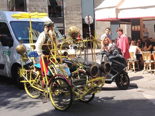 le marais bike man