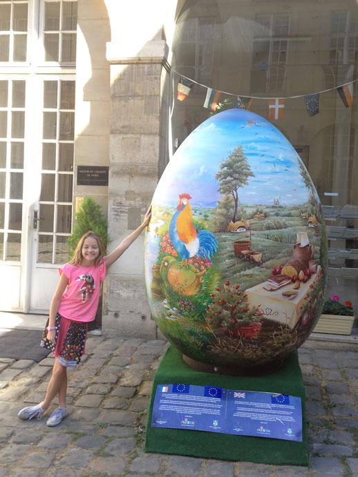 le marais egg