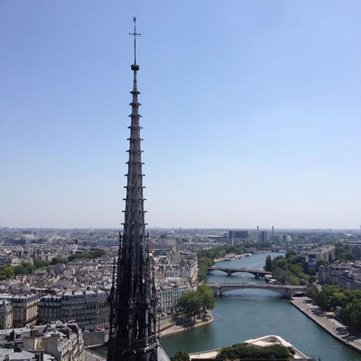 notredame seine view