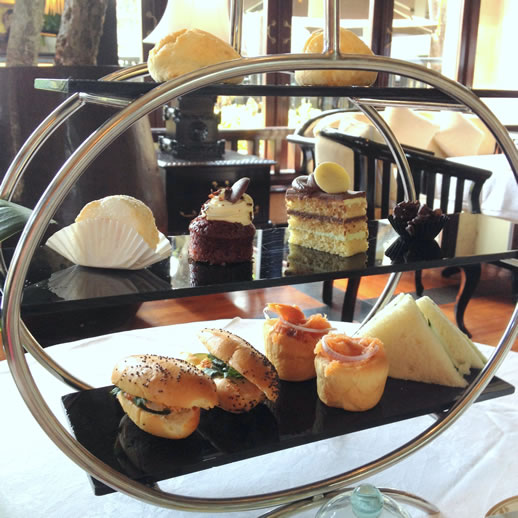 bali intercontinental club afternoon tea