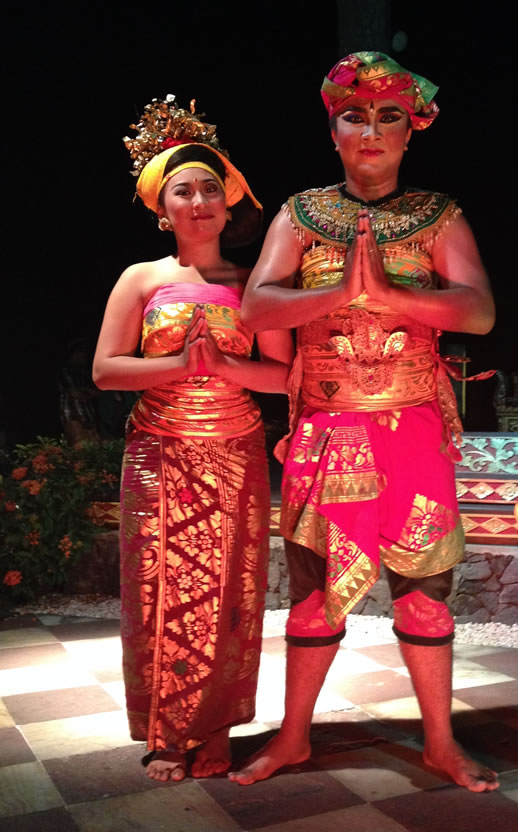 bali intercontinental dance show