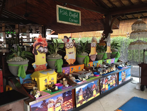 bali intercontinental kids buffet