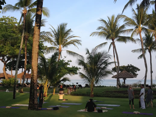bali intercontinental yoga