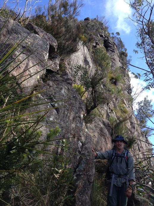 mount barney climb
