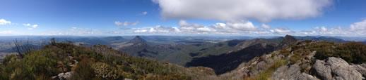 mount barney panorama