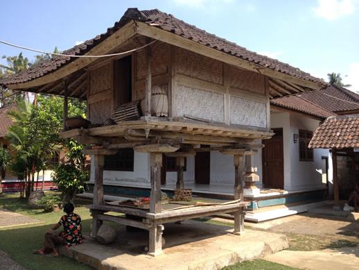 rumah desa courtyard