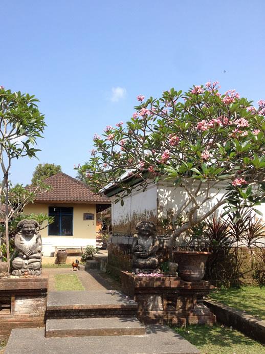 rumah desa entrance
