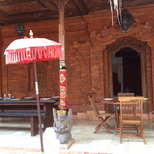 rumah desa lunch