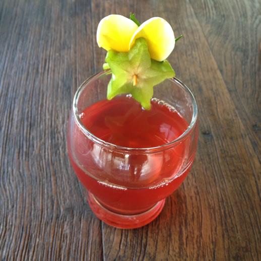 rumah desa welcome drink