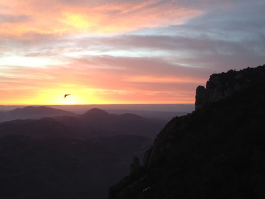 monserrat sunset