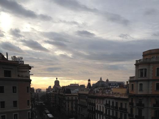sunrise barcelona