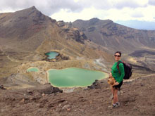 Hiking the Tongariro Alpine Crossing