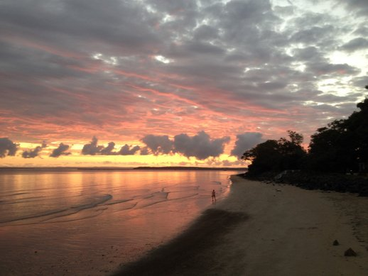 hervey bay sunrise
