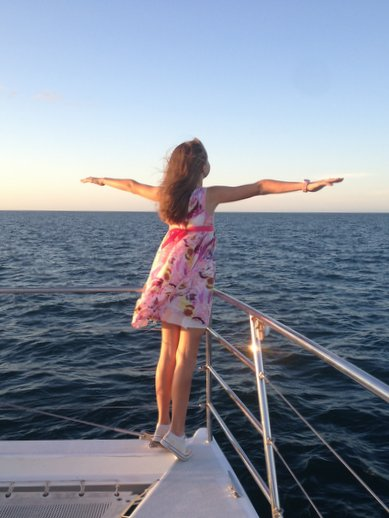 hervey bay sunset cruise 1