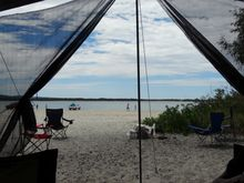 Rainbow Beach camping at Inskip