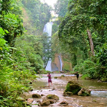 Tenaru Falls, Honiara, Solomon Islands